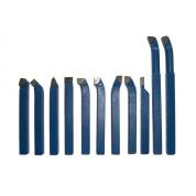 METALMASTER Набор резцов 10 мм c твердосплавными пластинами 11 шт
