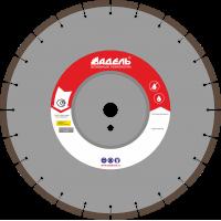 Диск по железобетону Адель ЖБ 30 /40x5,0x12/ 24 сегм от 11 кВт Ø350
