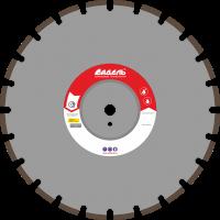 Адель Диск по железобетону ЖБ 30 /40x3,6x12/ 24 сегм от 11 кВт Ø450