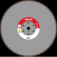 Адель Диск по железобетону ЖБ 30 /40x5,0x12/ 42 сегм от 11 кВт Ø600