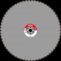 Адель Диск для стенорезных машин WSF 300 /40x4,5x12/ 64 сегм от 30 кВт Ø1100