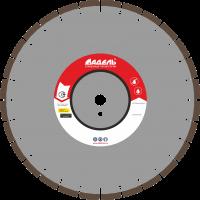Адель Диск по асфальту А 25 /40x3,2x6,0/ 28 сегм до 25 кВт Ø400