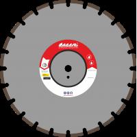 Адель Диск по асфальту А 25 /40x5,0x10/ 24 сегм до 25 кВт Ø450
