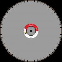 Адель Диск по асфальту А 25 /40x4,5x10/ 56 сегм до 25 кВт Ø1000