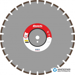 Адель Диск по асфальту А 25 /40x3,6x6,0/ 30 сегм до 25 кВт Ø500
