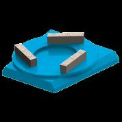 Адель Франкфурт для шлифования бетона
