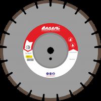 Диск по железобетону Адель ЖБ 20 /40x4,5x12/ 21 сегм до 10 кВт Ø350