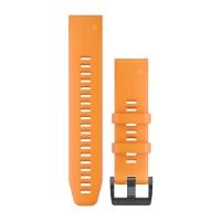 Ремешок сменный (силикон) оранжевый Garmin QuickFit 22 мм