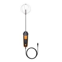 Зонд турбулентности/цифровой Testo, фиксированный кабель