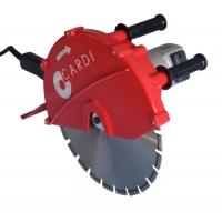 Электрическая алмазная дисковая пила CARDI PE 400 (Cтенорезная машина) без диска