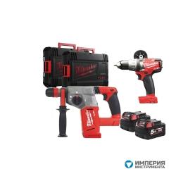 Набор инструментов Milwaukee M18 FSET2B-502X Set Power Pack IN2