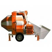 Лебедянь Бетоносмеситель СБР-1200А (с диз. двиг) 25-30 м3/ч, 1200 л, 15кВт