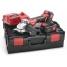 Аккумуляторная шлифовальная машина Flex L 125 18.0-EC/5.0 Set