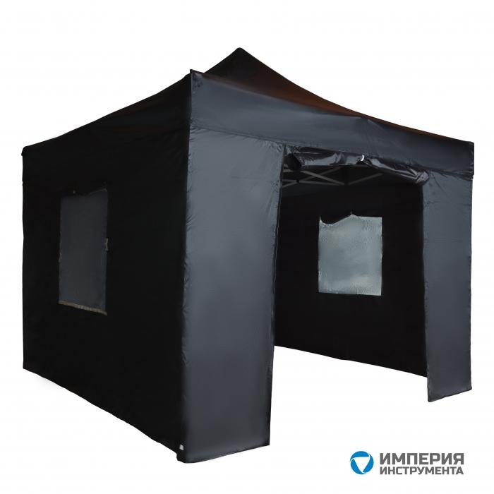 Тент садовый S8.1, 3x3м черный Helex 4332
