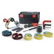 Сатинировальная и ленточная шлифовальная машина TRINOXFLEX Flex BSE 14-3 INOX Set 230/CEE