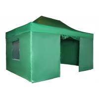 Тент садовый S8.2, 3x4.5м зеленый Helex 4336