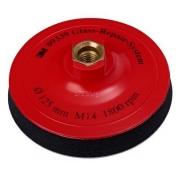 Оправка 3M™ Stikit™ 125 мм х 19 мм, мягкая, без отверстий, М14