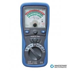 Аналоговый тестер изоляции и электропроводимости CEM(СЕМ) DT-5503