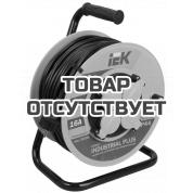 Удлинитель на катушке с термозащитой 4х50м УК50 3х1.5 IEK Industrial WKP15-16-04-50