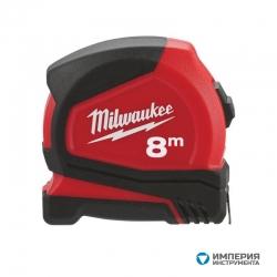 Компактная рулетка Milwaukee C8/25 8м/25мм (1шт)