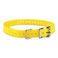 Ошейник (полиуретан) желтый Garmin для Barklimiter, Delta 19мм