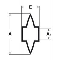 Ролик запасной Virax для трубореза 210451