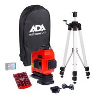 Нивелир лазерный ADA TopLiner 3x360 set с калибровкой
