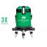 Нивелир лазерный ADA 6D SERVOLINER GREEN + приемник луча построителей плоскости ADA LR-60 GREEN в подарок!