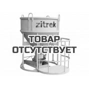 Zitrek Бадья для бетона БН-1.0 (люлька, воронка, лоток)