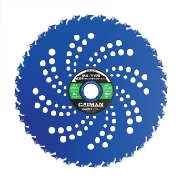 Диск с защитой от попадания камней Caiman Blue Shark 230/25,4/36Р