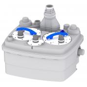 Насосная канализационная станция со встроенными насосами-измельчителями SFA Sanicubic 2 Pro IP68 NM