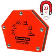 Угольник магнитный ТОРУС Smart&Solid MAG 614