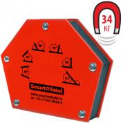 Угольник магнитный Smart&Solid MAG 615