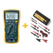 Мультиметр Fluke 115 + комплект принадлежностей TLK-225-1 в подарок!