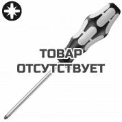 Отвертка крестовая Pozidriv WERA 3355, нержавеющая сталь, PZ 0 x 60 мм, 032030