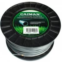 Леска триммерная Caiman Pro 3.5мм 124 м