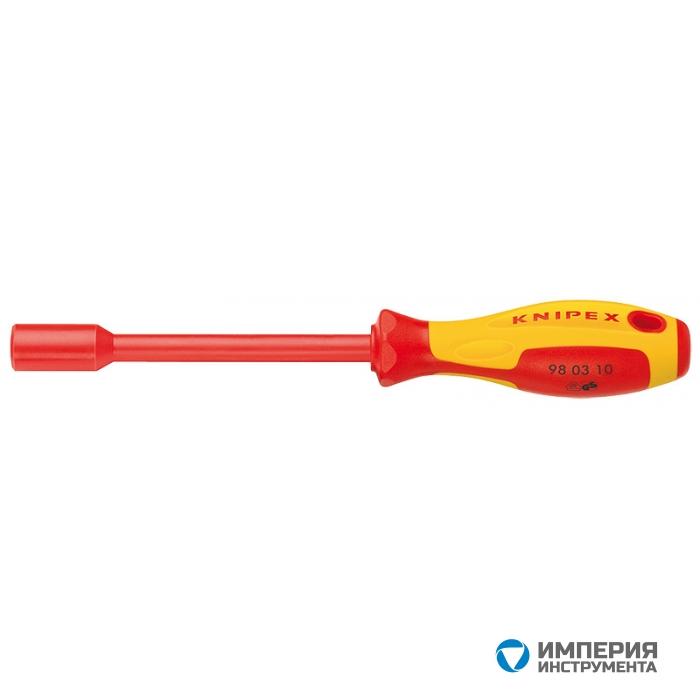 Торцовый ключ с ручкой как у отвертки KNIPEX KN-980312