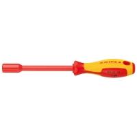 Торцовый ключ с ручкой как у отвертки KNIPEX KN-980313