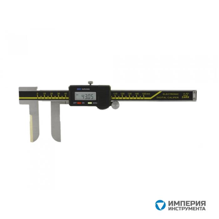 Штангенциркуль специальный SHAN ШЦЦСЛ 15-150-0,01 для внут. изм. с удл. лезвийными губ.