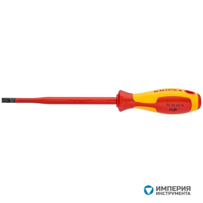 Отвертка для винтов с шлицевой головкой KNIPEX KN-982040SL
