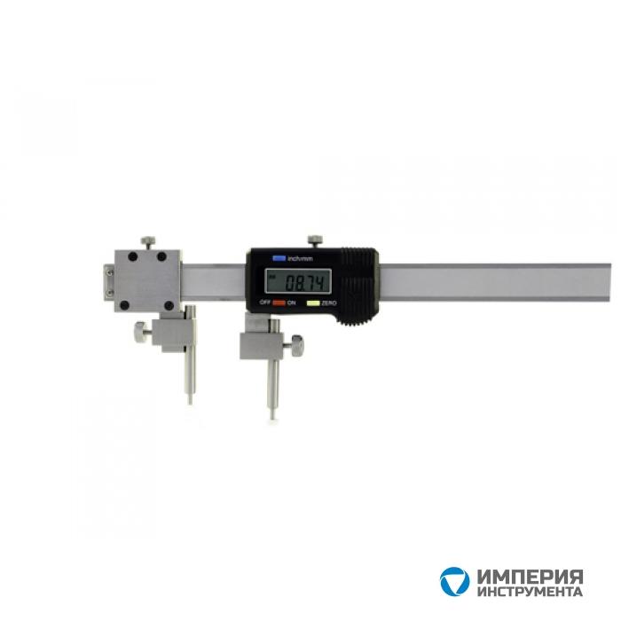 Штангенциркуль специальный SHAN ШЦЦСЦ-1 5-150-0,01 для изм. расст. м/у центрами отверстий с цилиндрич. изм. стержнями