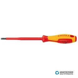 Отвертка для винтов с шлицевыми головками KNIPEX KN-982055