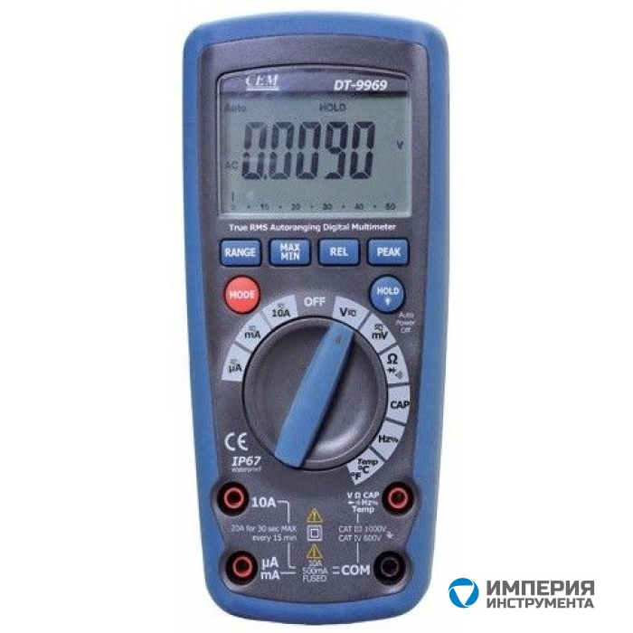 Мультиметр профессиональный CEM(СЕМ) DT-9969