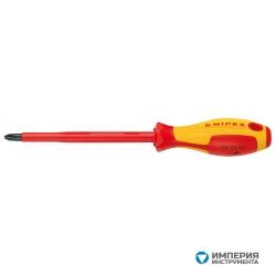 Отвертка для винтов с крестообразным шлицем Phillips® KNIPEX KN-982402