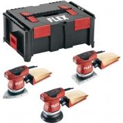 Комплект виброшлифовальных машин Flex Triple-Set OSE+ODE+ORE