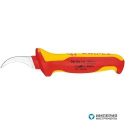 Нож для удаления оболочки кабеля с секторными жилами KNIPEX KN-985313