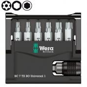 Набор WERA Bit-Check 7 TX BO Universal 1 056158