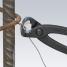 Клещи арматурные для сетки KNIPEX KN-9900300