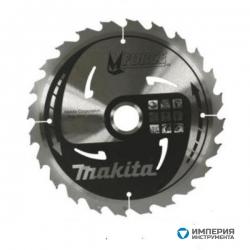 Диск по Дереву пильный Makita MForce 165мм*20мм 16зуб (B-31201)