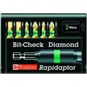 Набор WERA 8700-6/BDC Bit-Check – Rapidaptor 056370